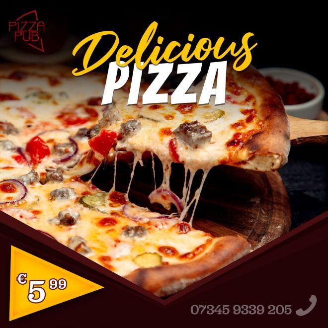 pizza-werbung